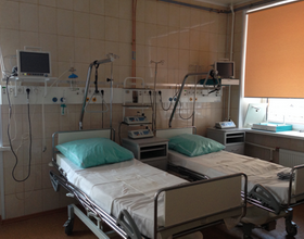 палата отделения реанимации и интенсивной терапии